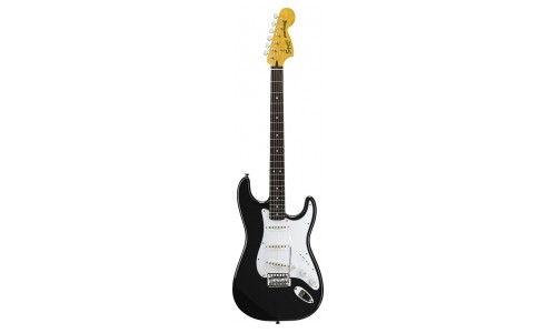 SQUIER BY FENDER STRATOCASTER BLACK VINTAGE MODIFIED