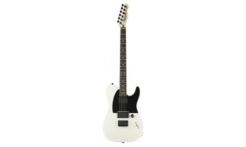 SQUIER BY FENDER TELECASTER JIM ROOT FLAT WHITE ARTIST SIGNATURE