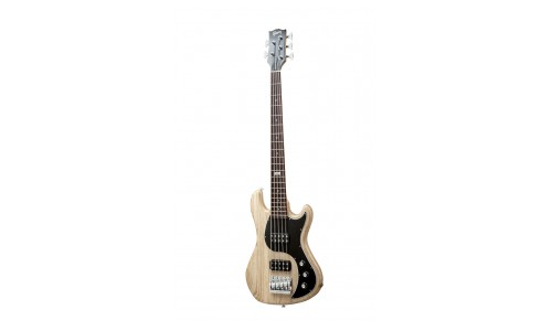 GIBSON EB 2014 5 STRING NATURAL VINTAGE GLOSS CHROME + ETUI