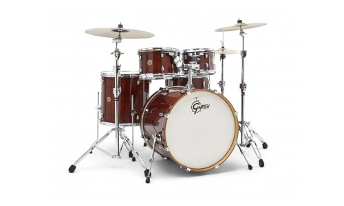 GRETSCH CM1-E825-WG - CATALINA MAPLE 2014 FUSION ROCK ROCK 22 - 10 - 12 - 16TB - 22GC - 14x6.5 WALNUT GLAZE