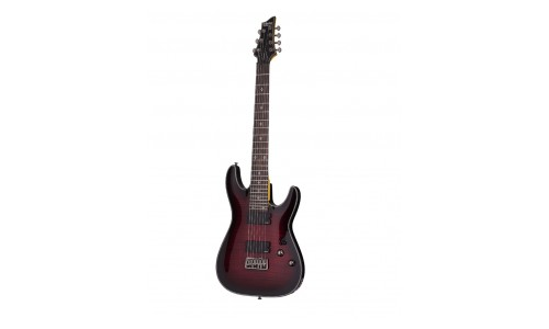 SCHECTER DAMIEN ELITE 7 CRIMSON RED