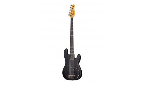 SCHECTER DIAMOND P CUSTOM 5 ACTIVE SATIN BLACK