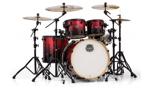 MAPEX AR529S-BNV - KIT ARMORY 5 FÛTS STAGE ROCK 22 MAGMA RED (SANS HARDWARE)