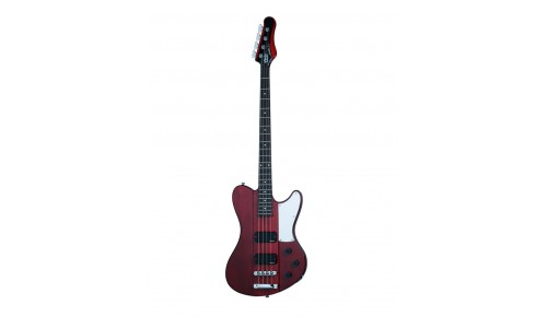 SCHECTER ULTRA BASS SEE THRU CHERRY