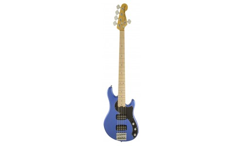 FENDER AMERICAN STANDARD DIMENSION BASS V HH OCEAN BLUE METALLIC + ETUI