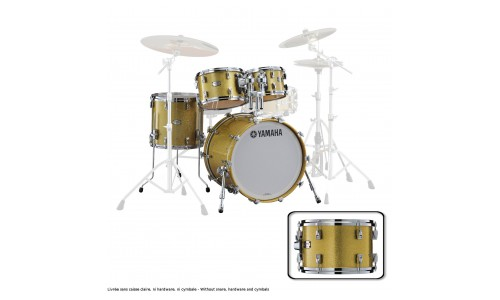 YAMAHA ABSOLUTE HYBRID MAPLE FUSION 20X16 + 10 12 14 GOLD CHAMPAGNE SPARK
