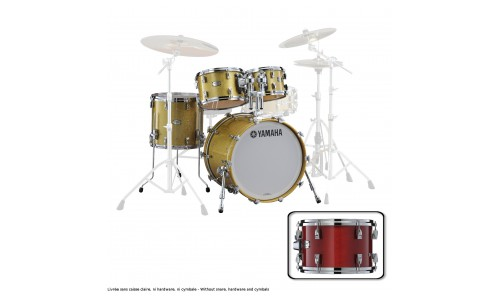 YAMAHA ABSOLUTE HYBRID MAPLE ROCK 22X18 + 10 12 16 RED AUTUMN