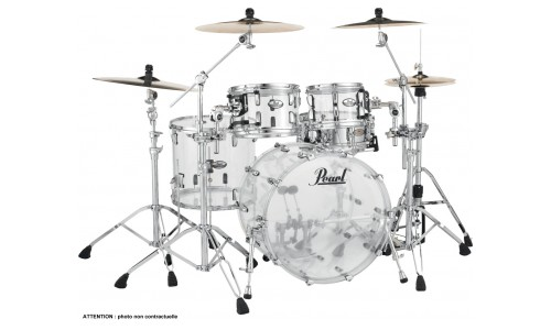 PEARL CRYSTAL BEAT - CRB504PC-730 - FUSION 20 3 FUTS - ULTRA CLEAR