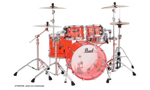 PEARL CRYSTAL BEAT - CRB504PC-731 - FUSION 20 3 FUTS - RUDY RED