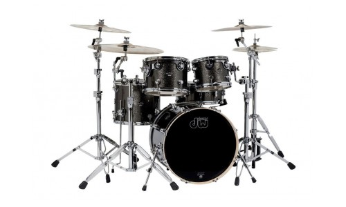 DW Drum Workshop JEU DE FUTS PERFORMANCE FINISH PLY / SATIN OIL BLACK DIAMOND