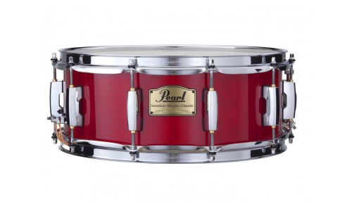 PEARL SSC1455SC-110 - CAISSE CLAIRE SESSION STUDIO CLASSIC 14x5,5 SEQUOIA RED