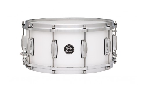 GRETSCH RN1-6514S-SW - RENOWN MAPLE 14 X 6.5 SATIN WHITE