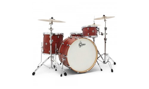 GRETSCH CT1-R444-SWG - CATALINA CLUB 2014 ROCK 24 - 12 - 16TB - 24GC - 14x6.5 SATIN WALNUT GLAZE