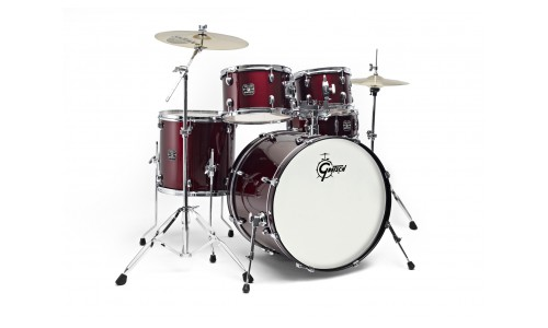 GRETSCH GE1-E605TK-WR- NEW ENERGY FUSION 20 WINE RED + CYMBALES SABIAN SBR 2 PACK
