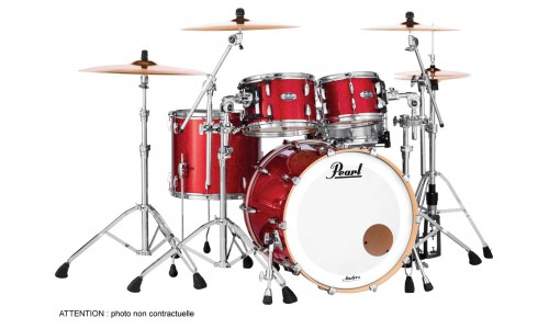 PEARL MCT924XEFPC-319 - MASTER MAPLE COMPLETE 4F FUSION 22 INFERNO RED SPARKLE