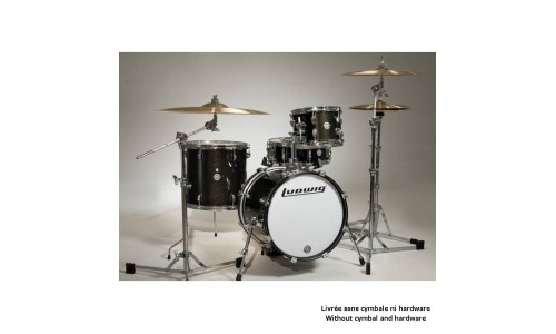 LUDWIG LC179XO16 - KIT BREAKBEATS QUESTLOVE BLACK SPARKLE