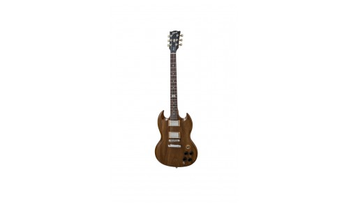 GIBSON SG SPECIAL 2014 WALNUT VINTAGE GLOSS CHROME + HOUSSE