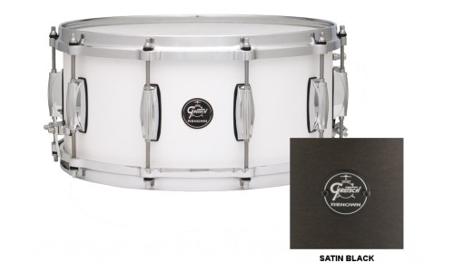GRETSCH RN1-5514S-SB - RENOWN MAPLE 14 X 5.5 SATIN BLACK