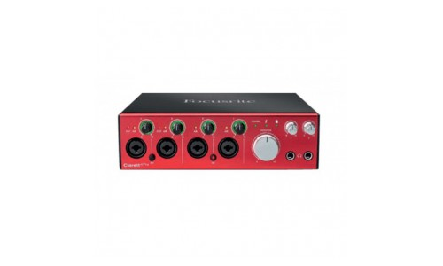 FOCUSRITE CLARETT-4PRE - INTERFACE THUNDERBOLT 4IN/4OUT