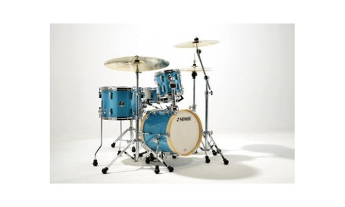 SONOR MARTINI SE SPECIAL EDITION - 4 FUTS BE BOP 14 TURQUOISE GALAXY SPARKLE