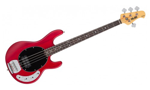 STERLING BY MUSIC MAN SUB RAY 4 TRANS RED PALISSANDRE