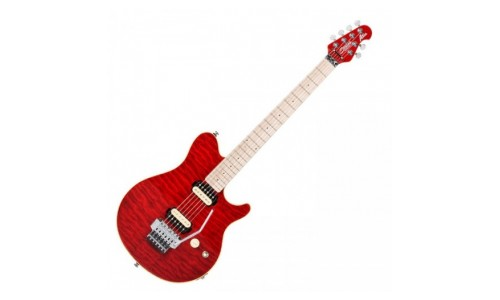 STERLING BY MUSIC MAN AXIS AX40 TRANS RED + HOUSSE