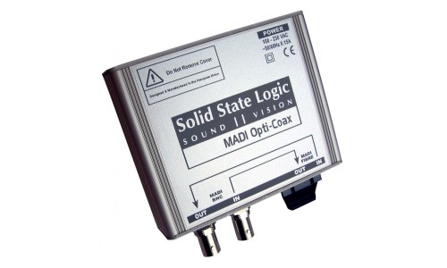 SOLID STATE LOGIC DELTA LINK MADI OPTI COAX
