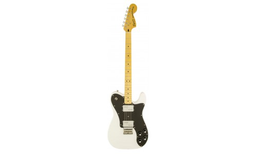SQUIER BY FENDER TELECASTER OLYMPIC WHITE VINTAGE MODIFIED