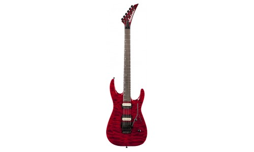 JACKSON DK2Q DINKY TRANS RED + ETUI