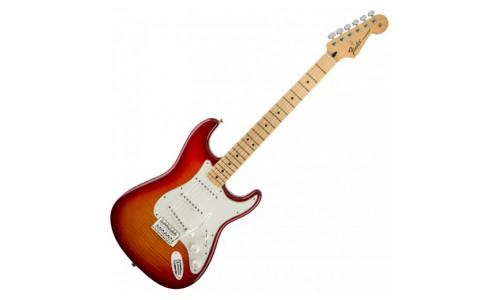 FENDER STRATOCASTER MEXICAN STANDARD PLUS TOP AGED CHERRY BURST