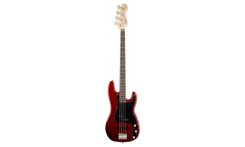 SQUIER BY FENDER PRECISION BASS METALLIC RED AFFINITY