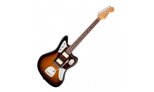 FENDER MEXICAN CLASSIC PLAYER JAGUAR KURT COBAIN SUNBURST + ETUI